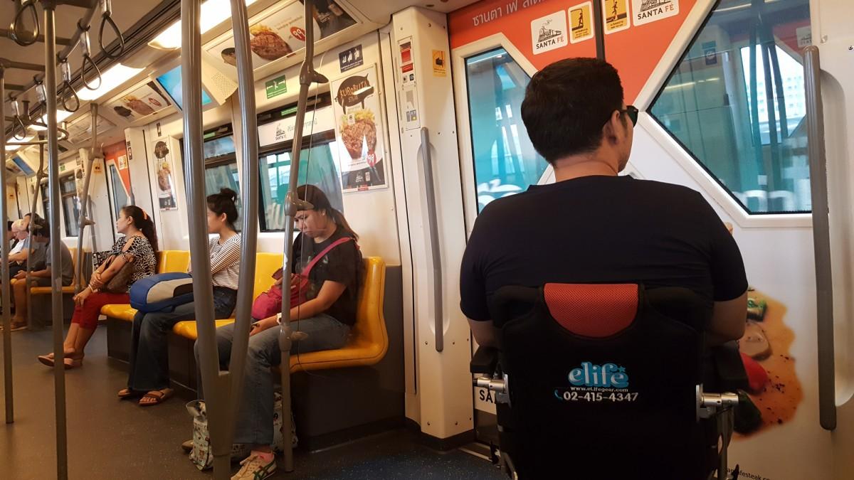 ใช้งานบนรถไฟฟ้า BTS
