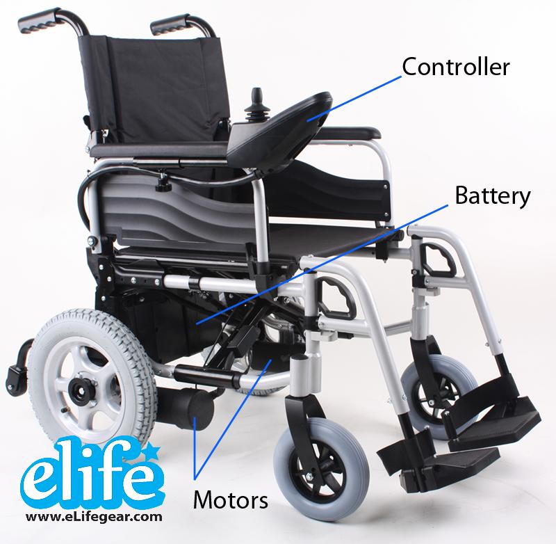 Electric Wheelchair รถเข็นนั่งไฟฟ้า