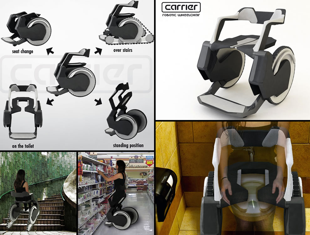 3 Carrier-Robotic-Wheelchair