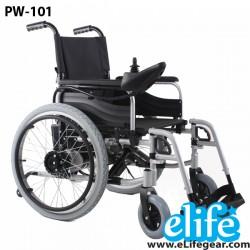 PW-101 รถเข็นนั่งไฟฟ้า สำหรับคนแก่ คนป่วย คนพิการ