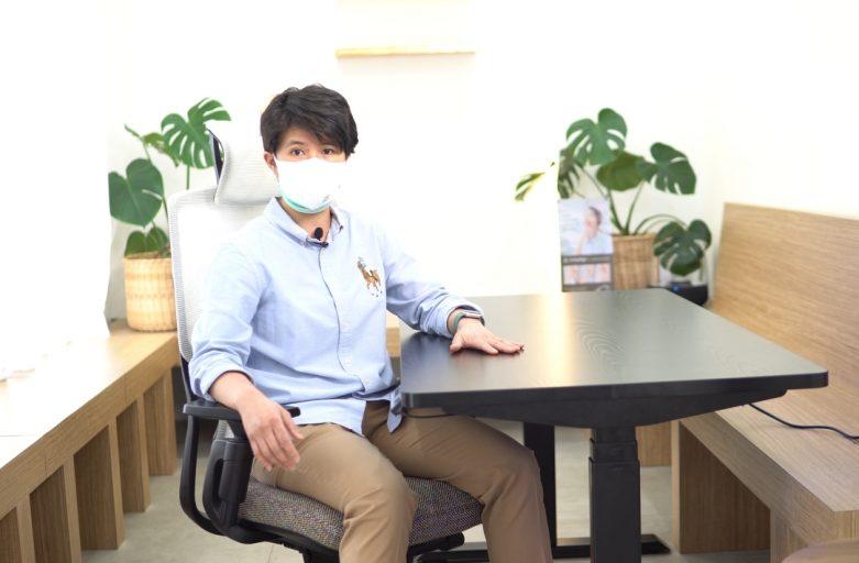 ทพญ. ณภาภัช เลือก Raise3 โต๊ะสุขภาพ Ergo Desk