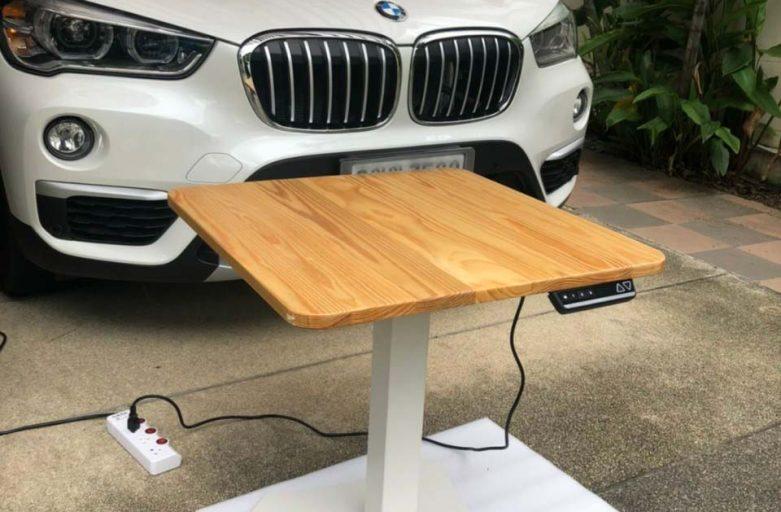 Ergodesk คุณหนุ่ม Raise1 โต๊ะปรับระดับไฟฟ้าขาเดียว