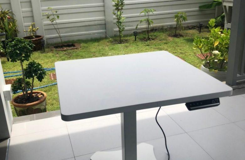 Ergolife คุณอรรถพงศ์ Raise1 โต๊ะปรับระดับแบบขาเดียว