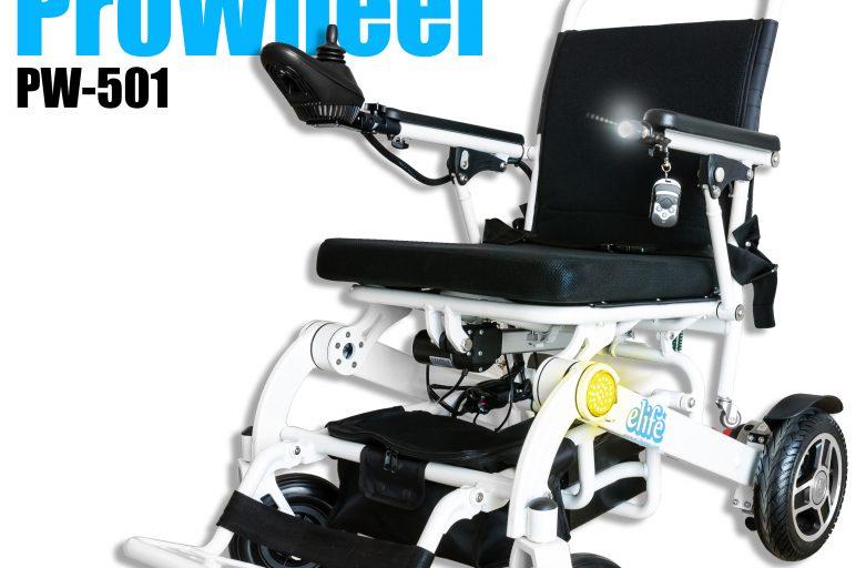 รีวิว รถเข็นนั่งไฟฟ้าตัวท็อป ProWheel PW-501