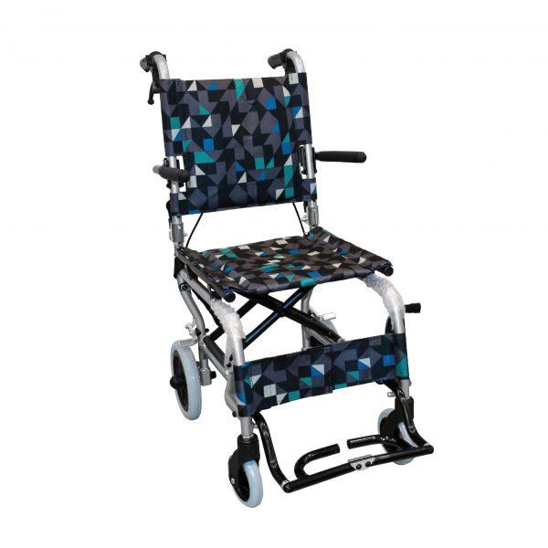 EW-11 เก้าอี้รถเข็นอลูมิเนียม 6.7Kg พับได้ (แถมกระเป๋า)