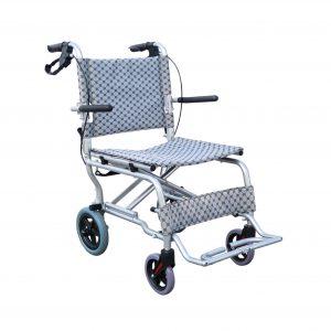 EW-11Plus เก้าอี้รถเข็นอลูมิเนียม 7.6Kg พับได้ (แถมกระเป๋า)