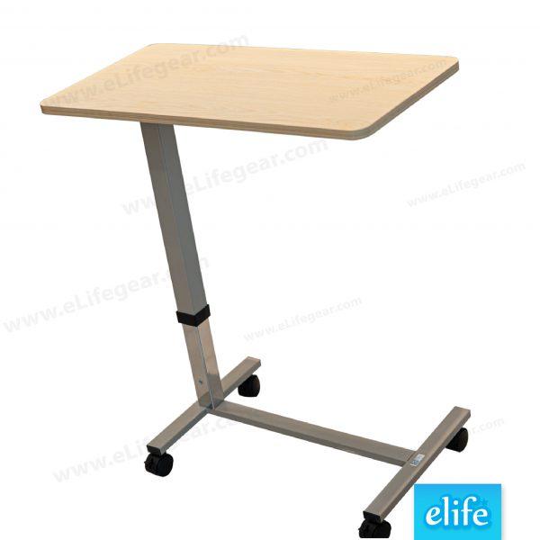 โต๊ะคร่อมผู้ป่วย ปรับระดับแบบสปริง อีไลฟ์รุ่น ET-771